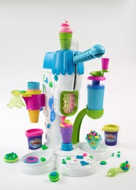 Play-Doh Perfect Twist Ice Cream Parlor, $22 | Best Toys for Kids - Parenting.com