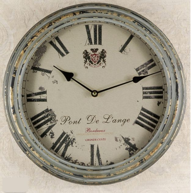 french country metal wall clock clocks pinterest