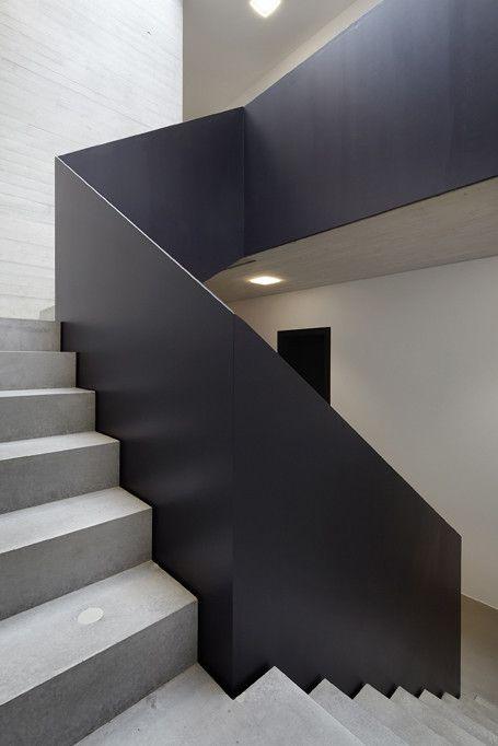 Treppenhaus architektur  58 besten Architektur Innentreppe Bilder auf Pinterest | Geländer ...