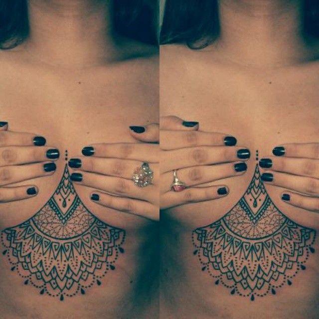 57 best sternum tattoo images on pinterest chest tattoo for Henna tattoo process