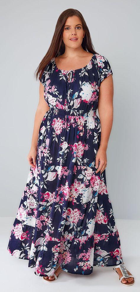 Plus Size Floral Dresses Uk 24