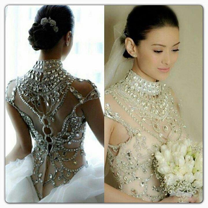Crystal Bodice Wedding Gown