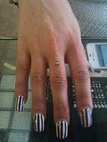 Finger Dermal Anchor done by Gypsy Blades Piercing, Halifax UK