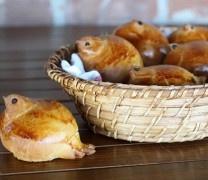 Easter Baking: Bird Shaped Bread Rolls
