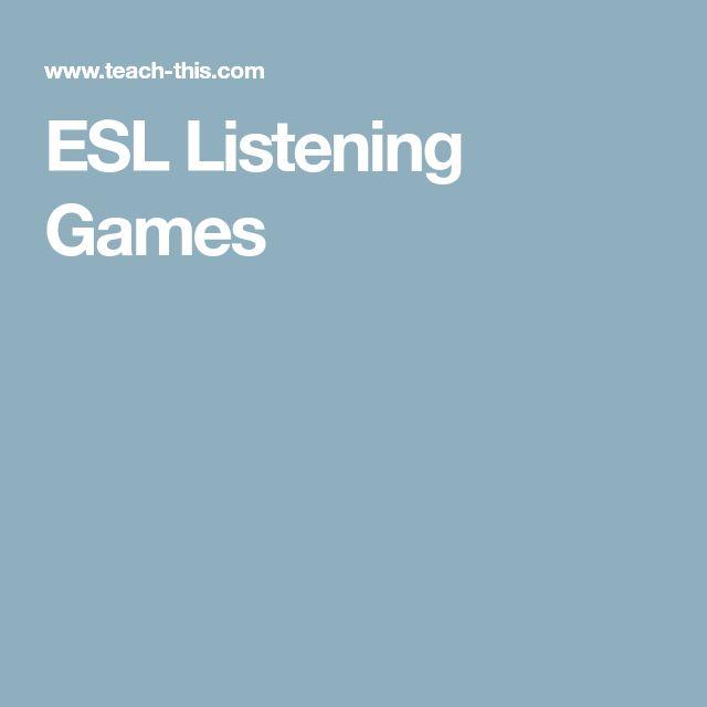 ESL Listening Games