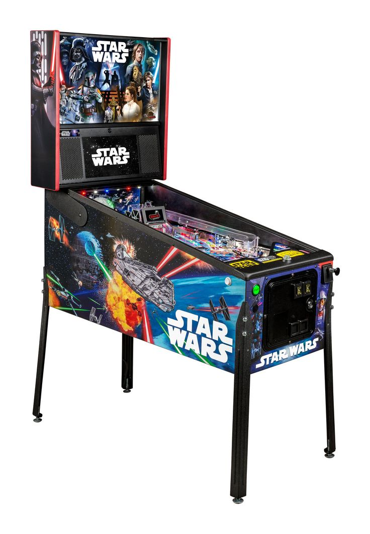 Stern Pinball is releasing an awesome new array of Star Wars arcade games for the film's 40th anniversary.