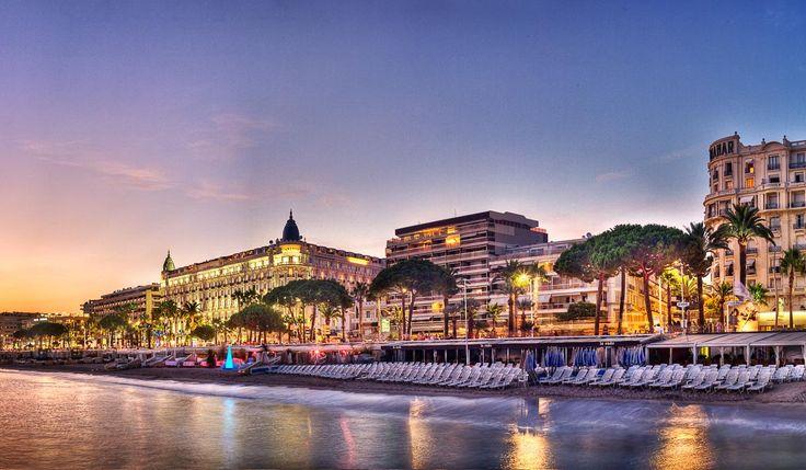 Croisette Beach Hotel, Cannes, France