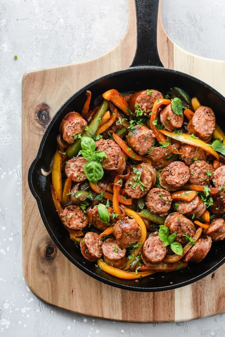 60 Incredible Whole30 Recipes Sausage Recipes For Dinner Stuffed Peppers Skillet Meals