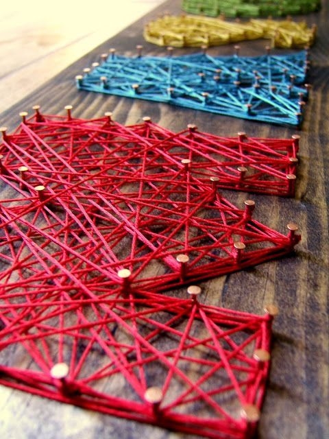 30 Creative Diy String Art Ideas Copper Creative And Diy String Art