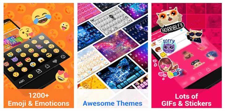 Kika Emoji Keyboard Pro + Gifs App   Best Apps   Emoji