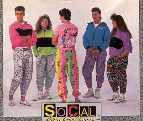 Blue - eyed Girls: Wspomnienia lat '90 - moda