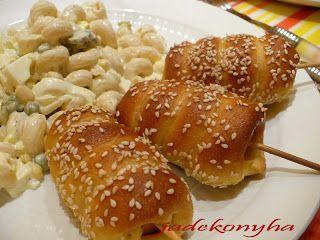 Jade konyhája: Corn dog - virsli kukoricás kelt bundában