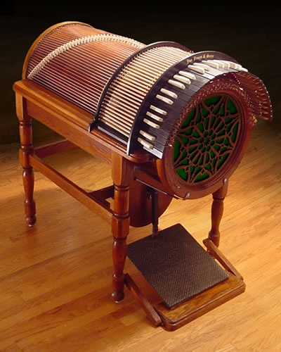 Wheel Harp - bizarre