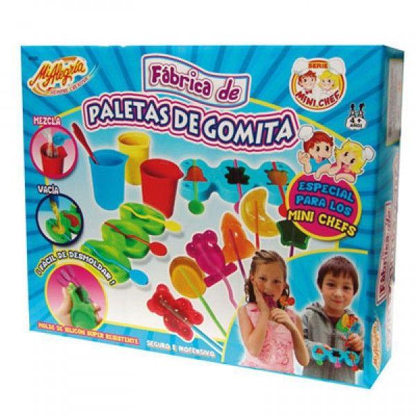 Fabrica de Paletas de Gomita - Juegos Didácticos JulioCepeda.com