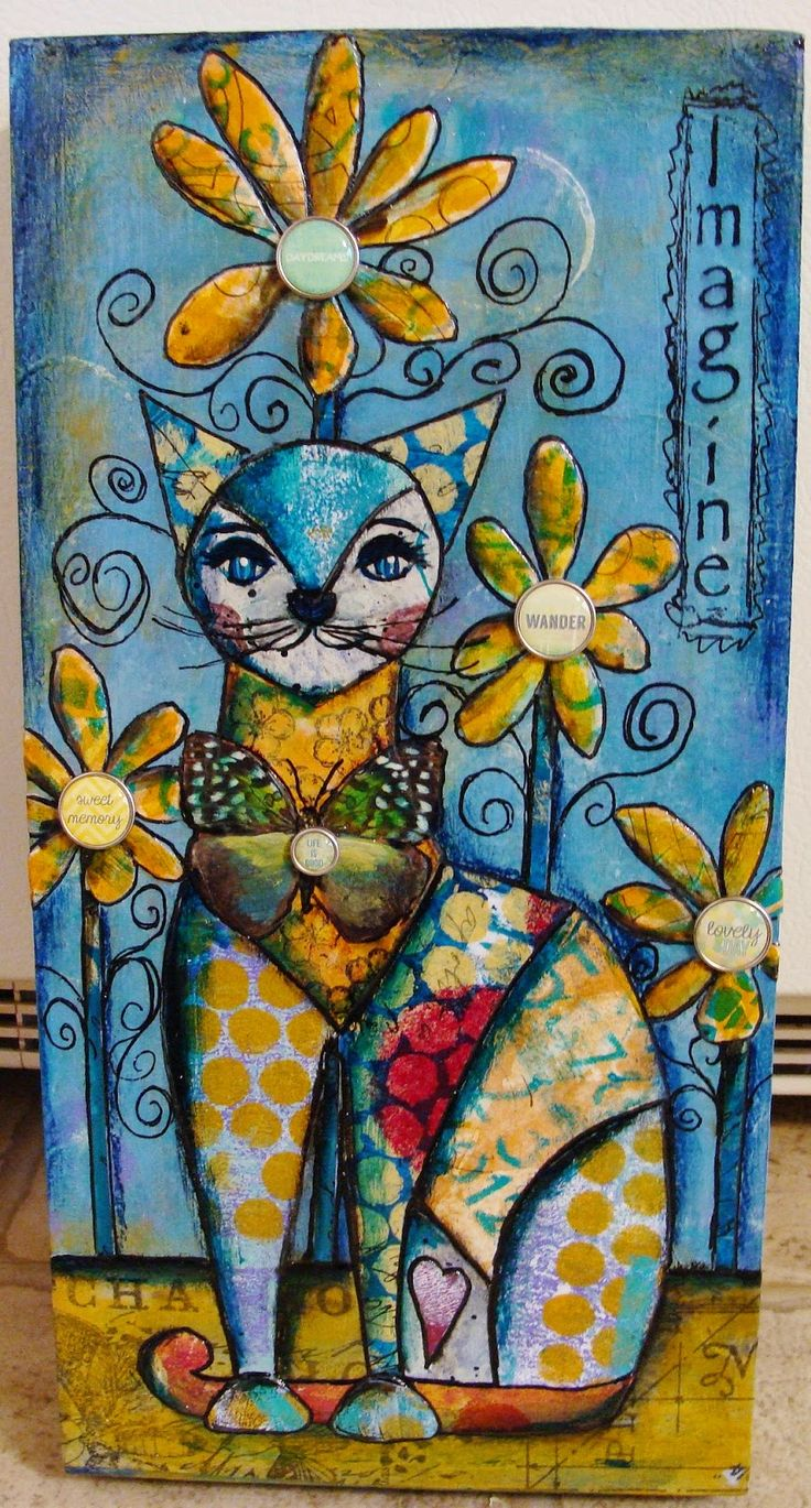 """Diane Salter - A New Step-by-Step Tutorial for 2015 including the use of Gelli painted papers! """"And I also want to add my Gelli Plate--my new friend! This is what I do to get me warmed up, and what I really enjoy doing, but there's no reason why you can't use scrapbook papers--or any decorative papers that you may have."""""""