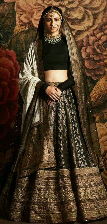 Pinterest: @Littlehub || Sabyasachi~❤。An Exquisite Clothing World || sabyasachi lehenga