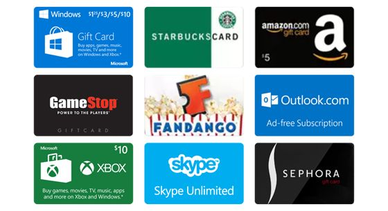 Search Bing. Earn free rewards! Choose from dozens of free gift cards to put some extra cash in your wallet!