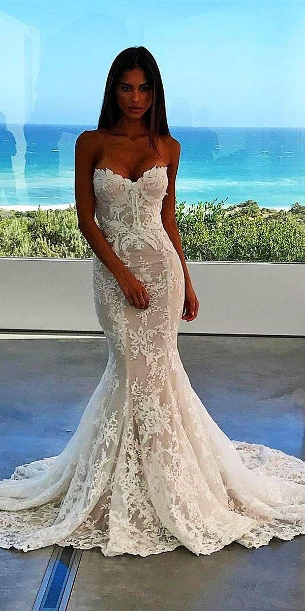 Lace Mermaid Wedding Dress Backless Dresses Pretoria