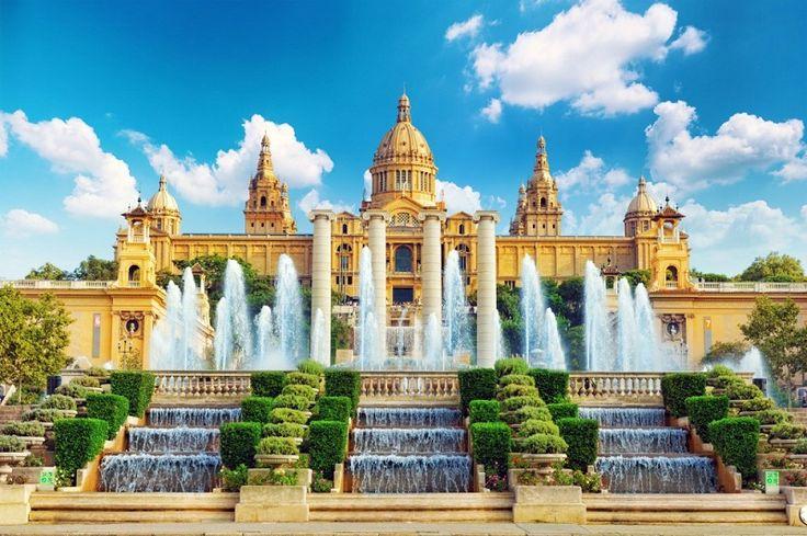 Барселона: Национальный музей искусства Каталонии на горе Монжуик