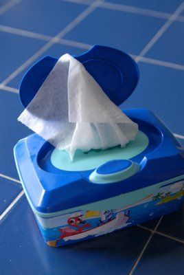 We use flushable wipes in our house, so I might just have to give this a try.