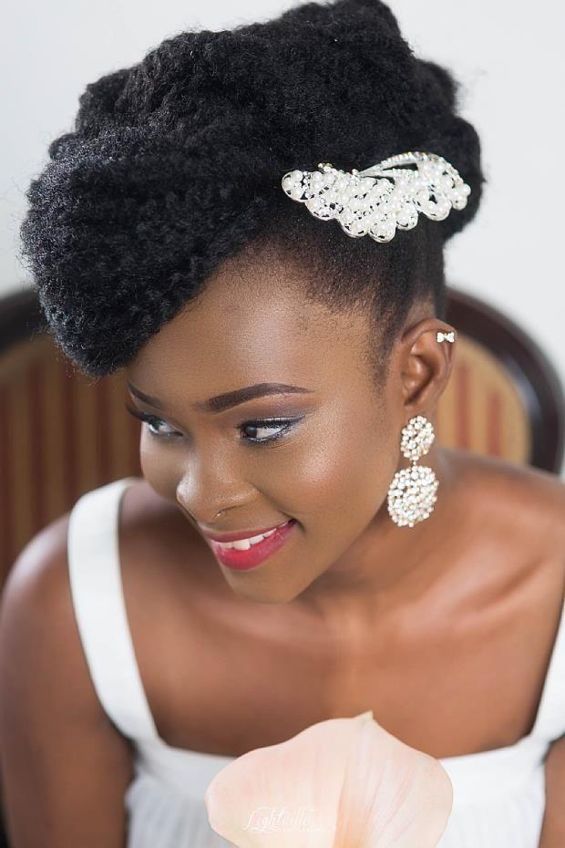 1001 Idées Un Mariage C Est Comme ça Cheveux Afro