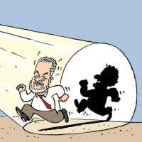 Images Reprise - L'ombre de Couillard Images drôles Caricatures sur Humour.com