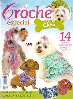Trajecitos para Mascotas de Crochet - Patrones Crochet