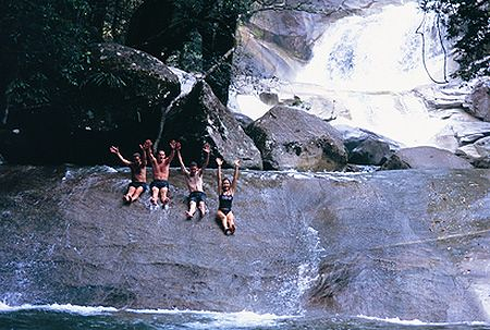 Id love to go back to Josephine Falls, in Cairns Australia.