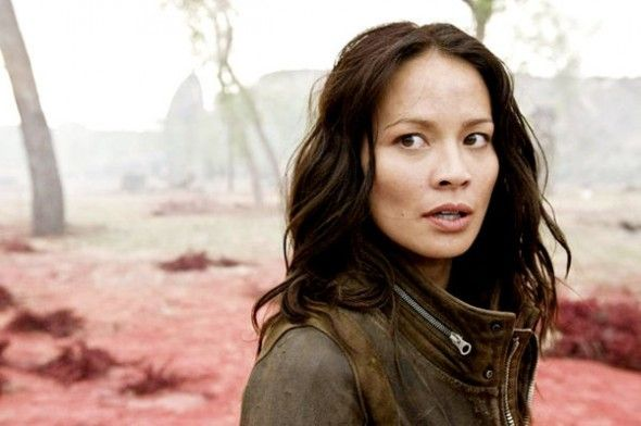 Moon Bloodgood - Convention Scene