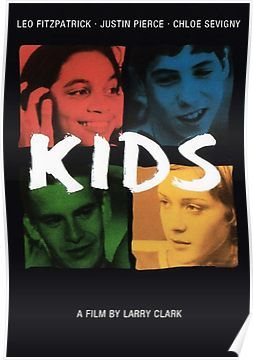 Kids 1995 Poster In 2019 Products Kids Movie 1995 Kid Movies