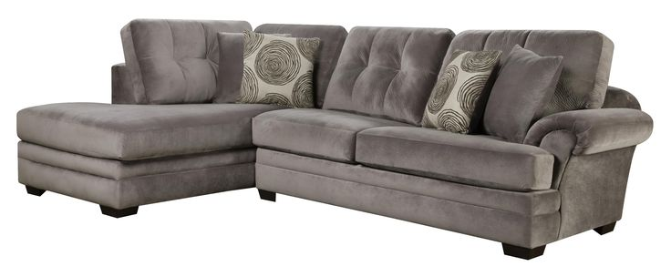 Small Sectional Sofa with Chaise (on Left Side)