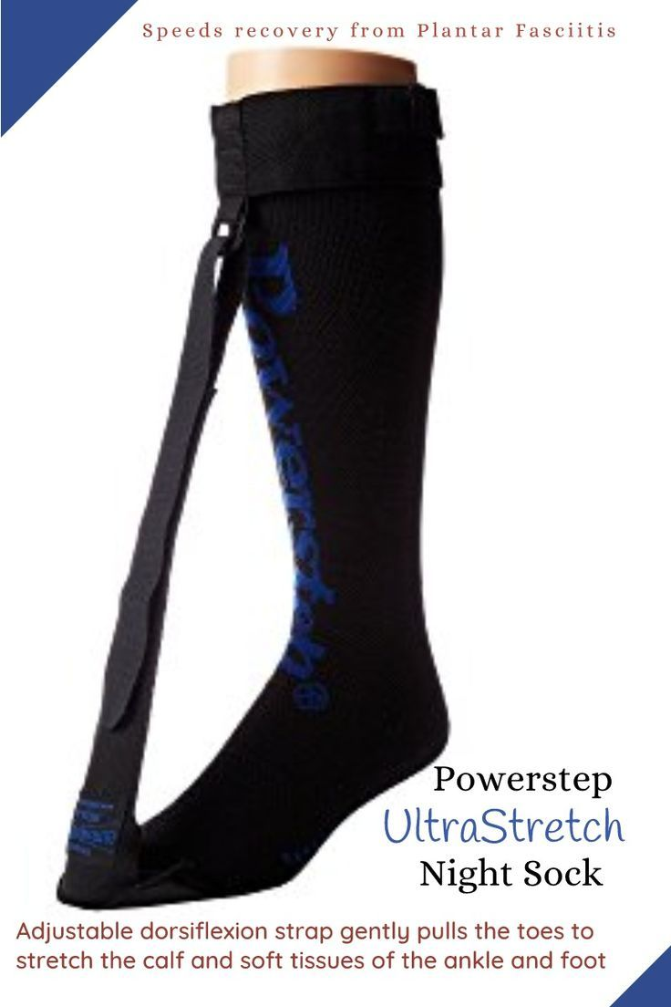 d883bc6c5d Fight Plantar Fasciitis Stretch your toes during your sleep - PowerStep  Ultrastretch Night Sock #affiliate