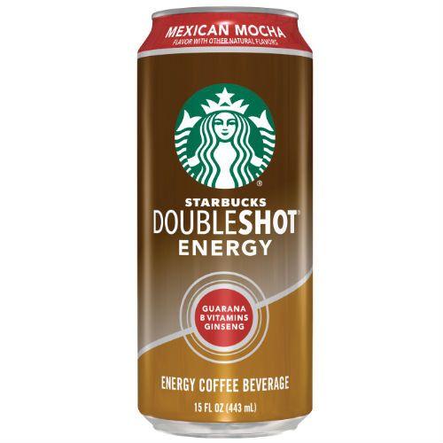 Starbucks DoubleShot Energy Mexican Mocha - 15 oz (12 Pack)