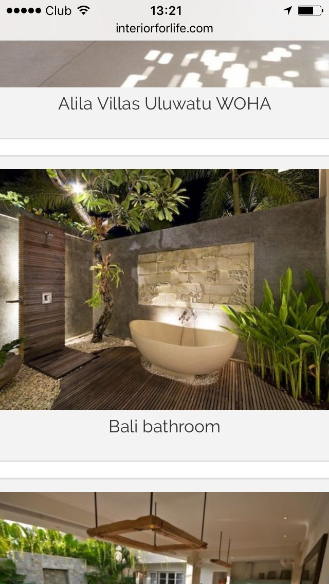 Pin by Kim Humphrey on Bali Ensuite ideas | Outdoor ...