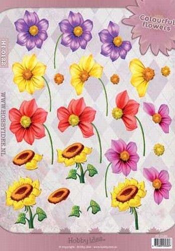Nieuw bij Knutselparade: 2764 Hobby Idee knipvel Zomerbloemen HI0122 https://knutselparade.nl/nl/bloemen/6705-2764-hobby-idee-knipvel-zomerbloemen-hi0122.html   Knipvellen, Bloemen  -  Hobby Idee