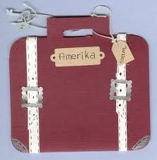 Koffer knutselen en daarin spullen plakken (knipsels uit tijdschriften/folders) die je mee wilt nemen.