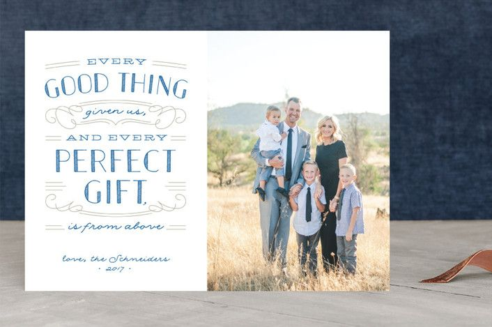 Perfect Gift Christmas Photo Cards by Ann Gardner | Minted