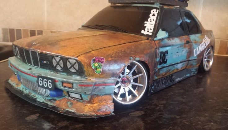BMW E30 Ratlook RC Drift Car