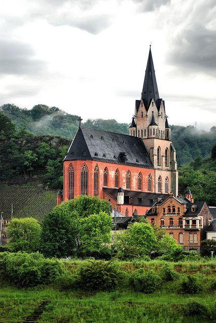 Sankt Goar, Middle Rhine, Germany    www.liberatingdivineconsciousness.com