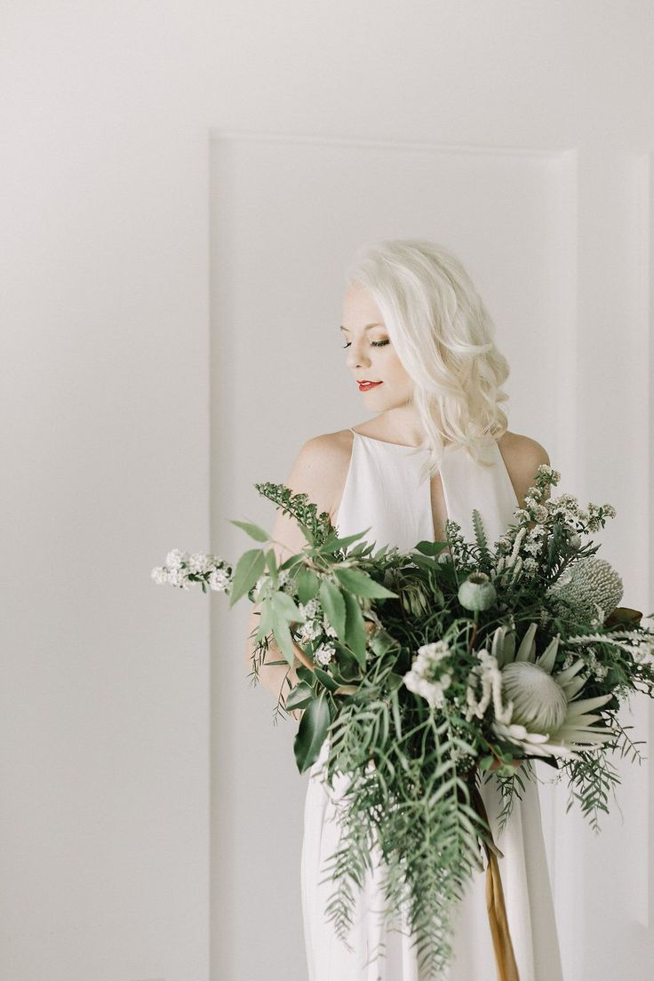 Real Wedding Britt + JD | Intimate + Cool + Modern Palm Spring Wedding | Destination Wedding | Dress: 'Lincoln' by Rebecca Schoneveld | Floral: Rooted & Wild Co. | Photos: Lindsey Plevyak | Venue : The Modern Territory | Design & Planning: Woven & Wed | a&bé bridal shop | #aandbabe | Check out the blog to see their wedding video!