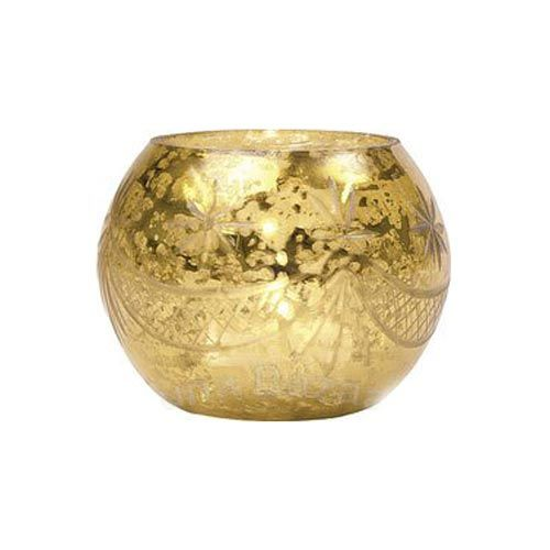 dining essentials gold votive candle holders - Gold Candle Holders