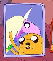 Jake & Lady RainicornJake Lady, Stuff, Lady Iris, Adventure Time, Time Luv, Lady Rainicorn And Jake, Geeky Things, Image, Lady Rainicorn Awwww