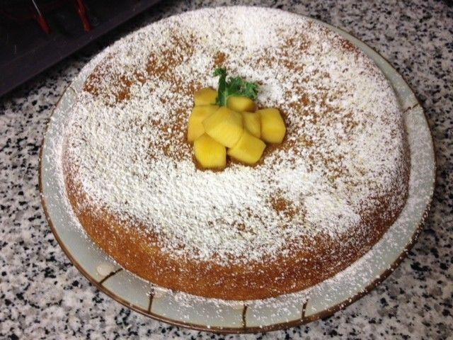 Vegan Mango Cake (It's Gluten-Free!)