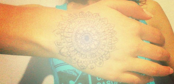Mandala en mi mano
