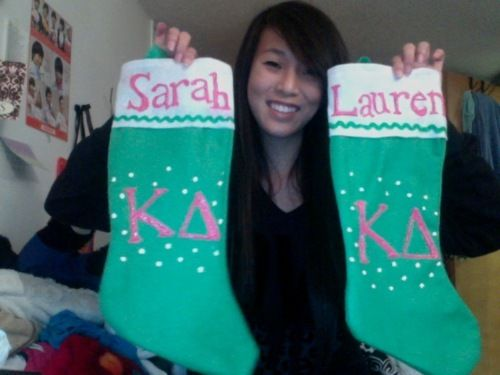 what a cute roommate craft! @Erin Peavyhouse we are putting these on our door!!!