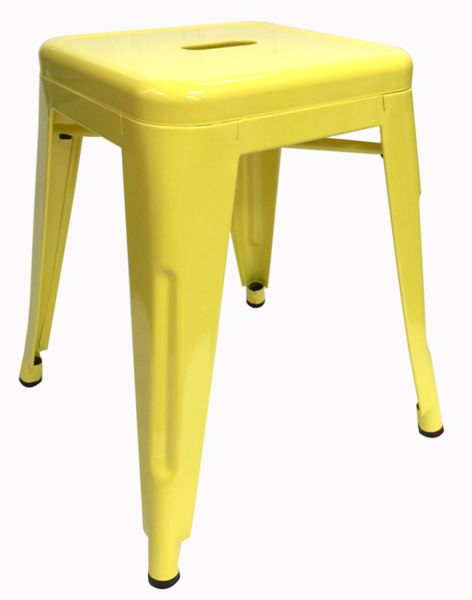 Buy Replica Tolix Stool 45cm Yellow Online at Factory Direct Prices w/FAST, Insured, Australia-Wide Shipping. Visit our Website or Phone 08-9477-3441