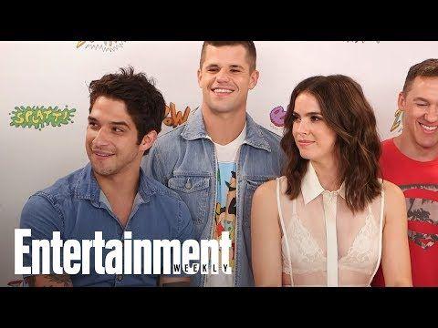 Teen Wolf: Shelley Hennig, Tyler Posey Tease Multiple Nude Scenes | SDCC 2017 | Entertainment Weekly - YouTube