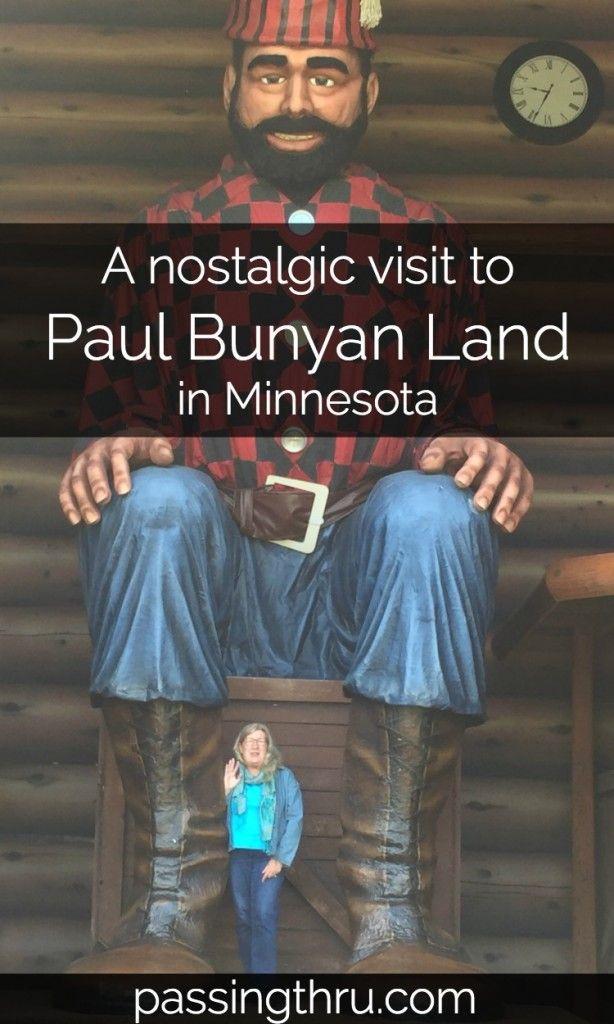 Paul Bunyan Land in Minnesota