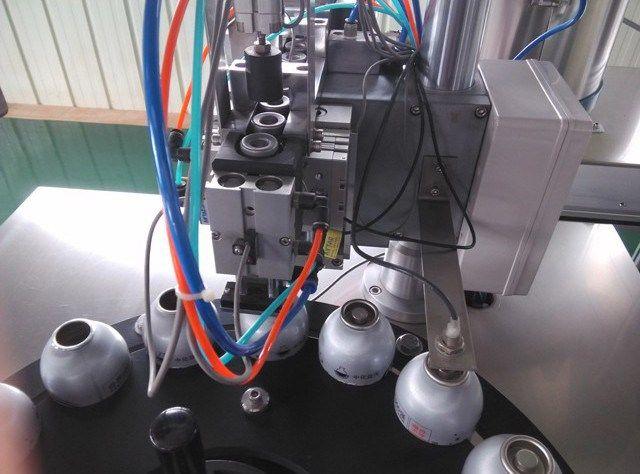 Best quality Aerosol Spray Can Filling Machine     More: https://www.aerosolmachinery.com/sale/best-quality-aerosol-spray-can-filling-machine.html