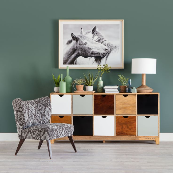 Porto big drawer buffet, Ada designer chair